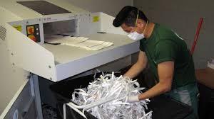 destruccion papel