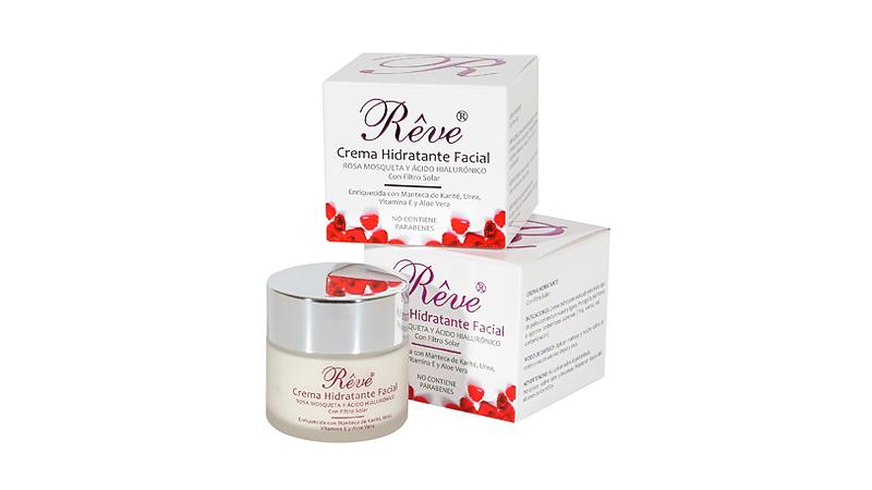Crema hidratante facial Reve: qué beneficios ofrece